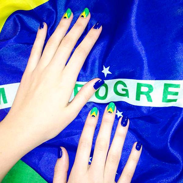 mau nail la co nuoc Brazil